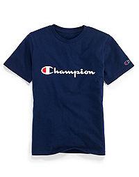Champion Youth Heritage Tee, Script Logo