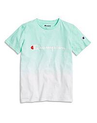 Champion Life® Kids' Heritage Dip Dye Tee, Script Logo