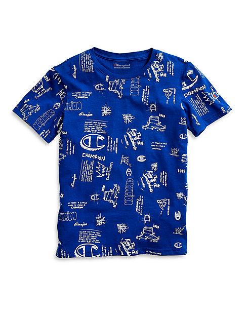 c0db9ab3 Champion Life® Kids' Tee, Scribble Script Logo