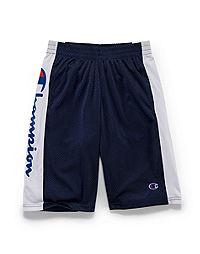 Champion Boys' Heritage Mesh Shorts, Script Logo