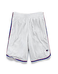 Champion Boys' Heritage Mesh Shorts With Side Stripe