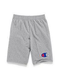 Champion Boys' Heritage French Terry Tapered Leg Shorts