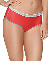 Hanes Women's Sport Comfort™ X-Temp® Hipster Panties with Comfort Flex® Waistband 3-Pack