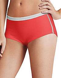 Hanes Women's Sport Comfort™  X-Temp® Boyshort Panties with Comfort Flex® Waistband 3-Pack