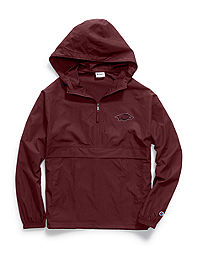Champion Collegiate Packable Jacket, Arkansas Razorbacks