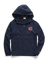 Champion Collegiate Packable Jacket, Auburn Tigers