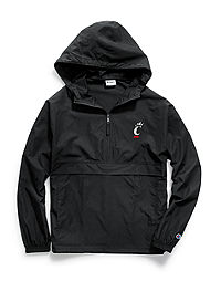Champion Collegiate Packable Jacket, Cincinnati Bearcats