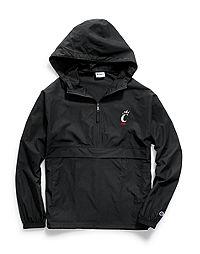 Champion Collegiate Packable Jacket, Cincinnati Bearcats