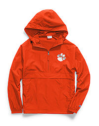 Champion Collegiate Packable Jacket, Clemson Tigers