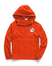 Champion Collegiate Packable Jacket, Clemson Tigers