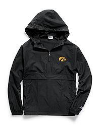 Champion Collegiate Packable Jacket, Iowa Hawkeyes