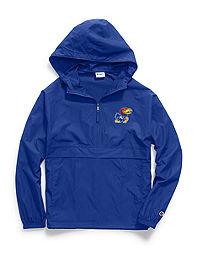 Champion Collegiate Packable Jacket, Kansas Jayhawks