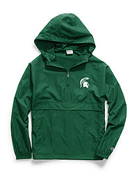 Champion Collegiate Packable Jacket, Michigan State Spartans