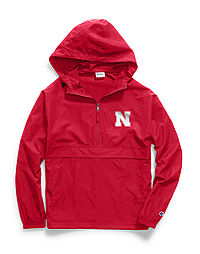 Champion Collegiate Packable Jacket, Nebraska Cornhuskers