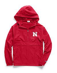Champion Collegiate Packable Jacket, Nebraska Cornhuskers