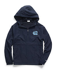 Champion Collegiate Packable Jacket, North Carolina Tarheels
