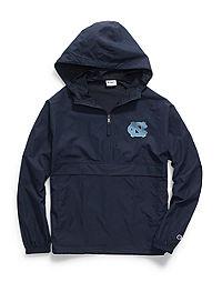 Champion Collegiate Packable Jacket, North Carolina Tarheels