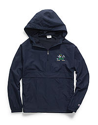Champion Collegiate Packable Jacket, Notre Dame Fighting Irish