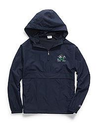 Champion Collegiate Packable Jacket, Notre Dame Fighting Irish