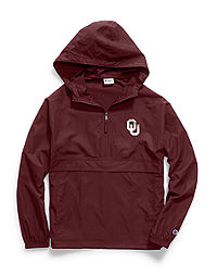 Champion Collegiate Packable Jacket, Oklahoma Sooners
