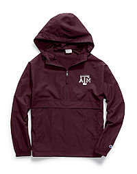 Champion Collegiate Packable Jacket, Texas A&M Aggies