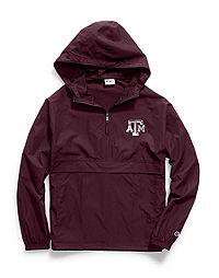Champion Collegiate Packable Jacket, Texas A&M Aggies