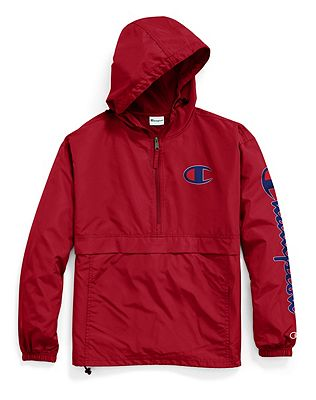 Champion Packable Jacket, Big C Logos by Champion