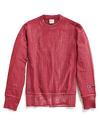 Champion Europe Premium Men's  Bleached Wash Reverse Weave® Terry Crew
