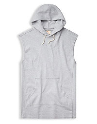 Champion Europe Premium Men's Sleeveless Logo Hoodie