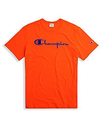 Champion Europe Premium Men's Basic Tee, Script Logo