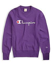 Champion Europe Premium Men's Reverse Weave® Crew, Script Logo
