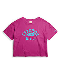 Champion Europe Premium Collection Women Light Jersey Graphic Tee