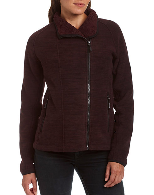 c5888562ec4 Champion Women s Sherpa-Lined Fleece Jacket