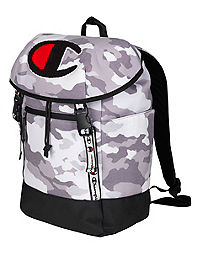 Champion Life® Prime Grey Camo Top Load Backpack