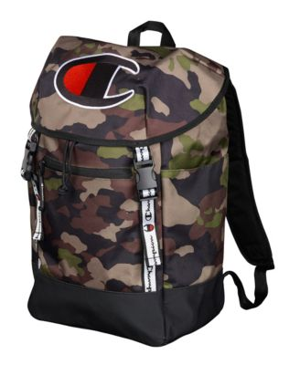 Champion Life® Prime Green Camo Top Load Backpack