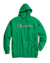 Champion Life® Men's Big & Tall Fleece Pullover Hoodie, Embroidered Logo