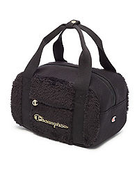 Champion Life™ Faux Fur & Jersey  Small Duffel