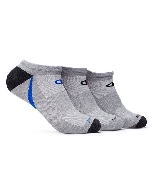 Champion Men's No-Show Training Sock 3-Pack