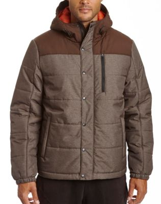 Champion Men's Technical Herringbone Quilted Puffer Jacket