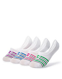 Champion Women's Performance Liner Stripe Socks 4-Pack