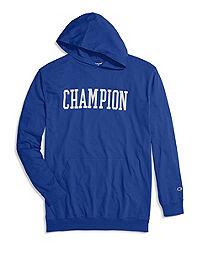 Champion Life® Men's Big & Tall  T-Shirt Hoodie, Block Logo