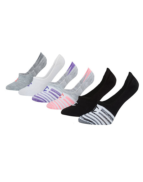 35ba0d9d34b Champion Women s Performance Invisible Liner Socks 6-Pack