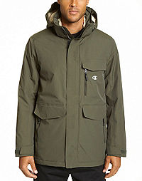 Champion Men's High Performance 2-Layer Jacket With Sherpa Lining