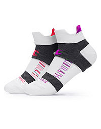 Champion Women's Double-Heel Shield®  Compression Running Socks 2-Pack