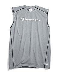 Champion Life® Men's Big & Tall Muscle Tee, Script Logo