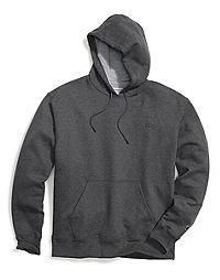 Champion Big & Tall Men's Pullover Fleece Hoodie with Contrast Liner