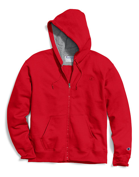 Champion Big & Tall Men's Zip Fleece Hoodie
