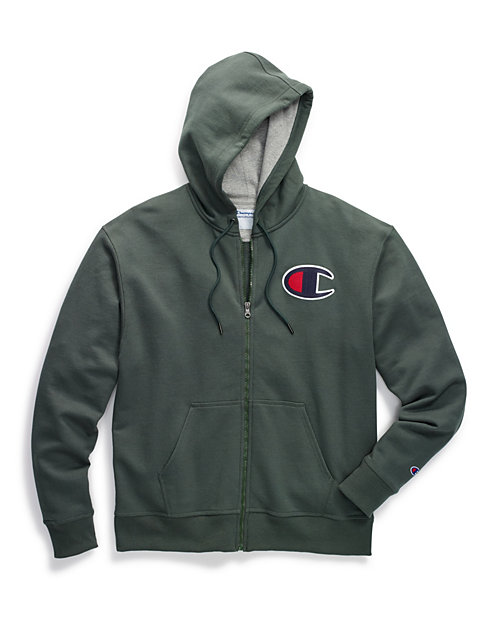 614a7b5f3ff4 Champion Big   Tall Powerblend® Fleece Zip Hood
