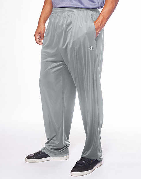 Champion Men's Big & Tall Performance Open Bottom Pant