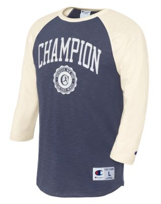 Champion Heritage Men's Big & Tall Baseball Slub Tee